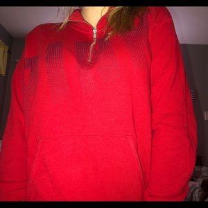 pink vs zip up pullover